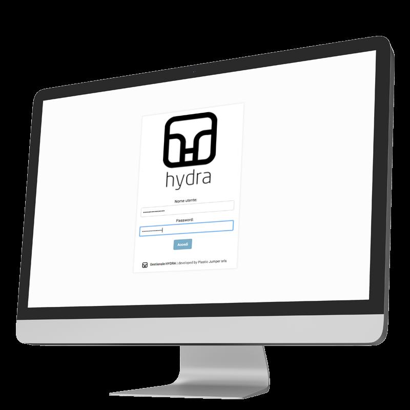 login di hydra, software per associazioni e aziende