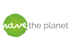 logo save the planet onlus